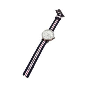 ブルックスブラザーズ リボン ベルト ウォッチ 時計 腕時計 ネイビー / Brooks Brothers RIBBON BELT WATCH NAVY breaks-general-store