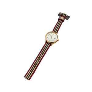ブルックスブラザーズ リボン ベルト ウォッチ 時計 腕時計 バーガンディー / Brooks Brothers RIBBON BELT WATCH BURGUNDY breaks-general-store
