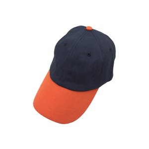 ブルックスブラザーズ ツートーン ベースボール キャップ ネイビー オレンジ 帽子 / Brooks Brothers TWO TONE BASEBALL CAP NAVY/ORANGE|breaks-general-store