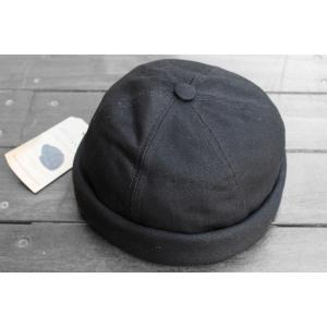 ベトン シレ ミキ 帽子 ブラック / BETON CIRE MIKI【BLACK】|breaks-general-store