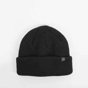 ベン・ジー ラウンド ロゴ ビーニー ニット帽 ブラック / BEN-G ROUND LOGO BEANIE [BLACK]|breaks-general-store