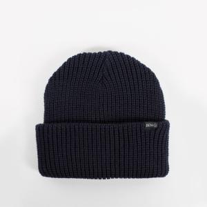ベン・ジー バー ロゴ ビーニー ニット帽 ネイビー / BEN-G BAR LOGO BEANIE [NAVY]|breaks-general-store