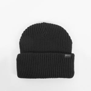 ベン・ジー バー ロゴ ビーニー ニット帽 ブラック / BEN-G BAR LOGO BEANIE [BLACK]|breaks-general-store