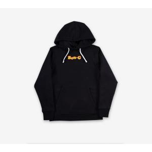 ベン・ジー Q-BENG フーディ プルオーバー パーカー ブラック / BEN-G Q-BENG HOODIE [BLACK] breaks-general-store