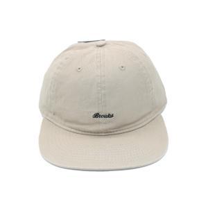 ブレイクス スクリプト ロゴ 6 パネル キャップ ベージュ / BREAKS SCRIPT LOGO 6 PANEL CAP [BEIGE]|breaks-general-store