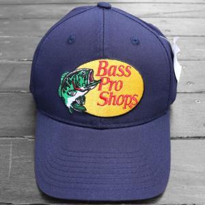 バス プロ ショップス ツイル キャップ  帽子 ネイビー / BASS PRO SHOPS TWILL CAP [NAVY]|breaks-general-store