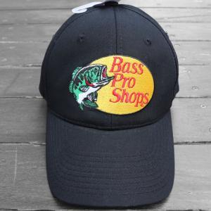 バス プロ ショップス ツイル キャップ  帽子 ブラック / BASS PRO SHOPS TWILL CAP [BLACK]|breaks-general-store