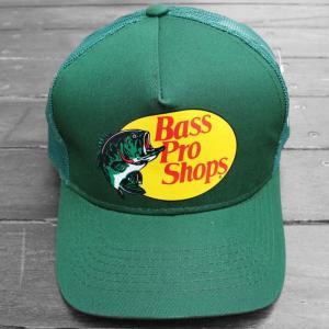 バス プロ ショップス メッシュ キャップ ダークグリーン / BASS PRO SHOPS MESH CAP [DARK GREEN]|breaks-general-store