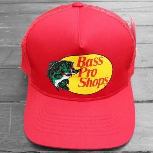 バス プロ ショップス メッシュ キャップ レッド / BASS PRO SHOPS MESH CAP [RED] breaks-general-store