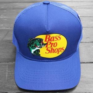 バス プロ ショップス メッシュ キャップ ロイヤルブルー / BASS PRO SHOPS MESH CAP [ROYAL BLUE] breaks-general-store