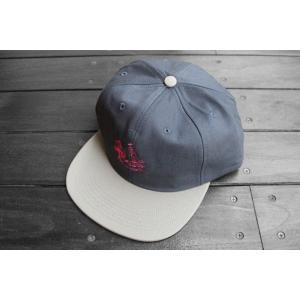 ブレインデッド キャッチ ミー イフ ユー キャン スナップバック キャップ 帽子 チャコール / BRAIN DEAD CATCH ME IF YOU CAN SNAPBACK CAP【CHARCOAL】|breaks-general-store