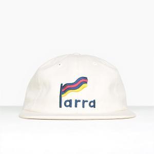 バイ パラ ストライプド フラッグ 6 パネル ハット キャップ ナチュラル / BY PARRA STRIPED FLAG 6 PANEL HAT [NATURAL] breaks-general-store
