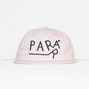 バイ パラ 6パネル ハット ドラッギング ピンク キャップ 帽子 / BY PARRA 6 PANEL HAT DRAGGING [PINK]|breaks-general-store