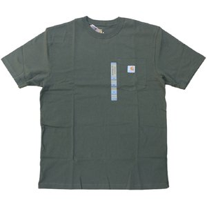 US カーハート ワークウェア ポケット Tシャツ アーミーグリーン ポケT / CARHARTT WORKWEAR POCKET TEE [ARMY GREEN]|breaks-general-store