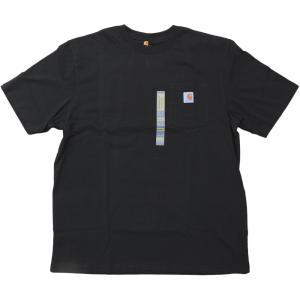US カーハート ワークウェア ポケット Tシャツ ブラック ポケT / CARHARTT WORKWEAR POCKET TEE [BLACK]|breaks-general-store