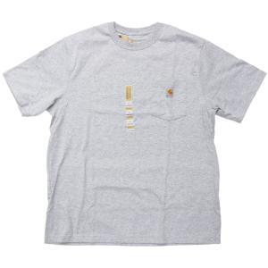 US カーハート ワークウェア ポケット Tシャツ ヘザーグレー ポケT / CARHARTT WORKWEAR POCKET TEE [HEATHER GREY]|breaks-general-store