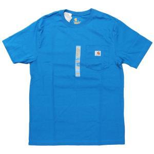 US カーハート ワークウェア ポケット Tシャツ アイランド ブルー ポケT / CARHARTT WORKWEAR POCKET TEE [ISLAND BLUE]|breaks-general-store