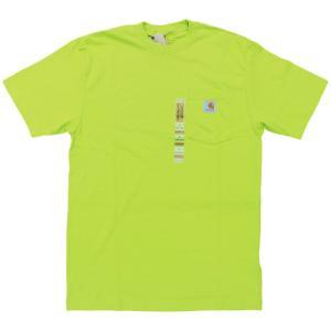 US カーハート ワークウェア ポケット Tシャツ サワー アップル イエロー ポケT / CARHARTT WORKWEAR POCKET TEE [SOUR APPLE]|breaks-general-store