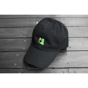 シガレット ノン オブ マイ ビジネス キャップ ブラック カーミット 帽子 / CIGARETTE NONE OF MY BUSINESS CAP【BLACK】|breaks-general-store