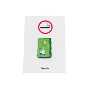シガレット フェード アウェイ エナメル ピンズ / CIGARETTE FADE AWAY ENAMEL PIN|breaks-general-store