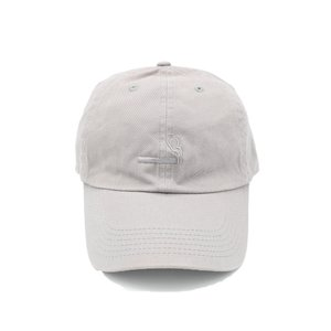 シガレット ロゴ キャップ グレー 帽子 / CIGARETTE LOGO CAP [GRAY]|breaks-general-store