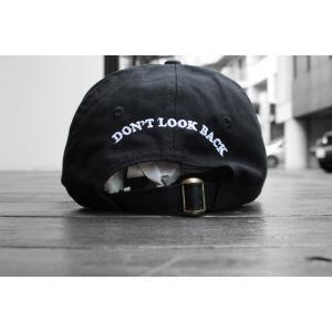 シガレット ドント ルックバック キャップ ブラック 帽子 / CIGARETTE DON'T LOOK BACK CAP [BLACK]|breaks-general-store