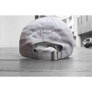 シガレット ドント ルックバック キャップ グレー 帽子 / CIGARETTE DON'T LOOK BACK CAP [GRAY] breaks-general-store
