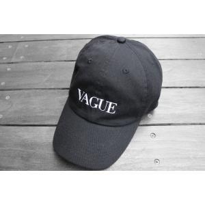 シガレット スーパーモデル キャップ ブラック 帽子 / CIGARETTE SUPERMODEL CAP [BLACK]|breaks-general-store