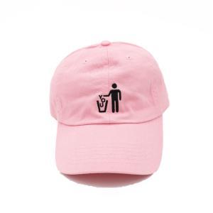 シガレット ディスポーズ オブ ユーキャップ 帽子 ピンク / CIGARETTE DISPOSE OF YOU CAP PINK|breaks-general-store