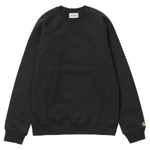 カーハート WIP チェイス スウェットシャツ ブラック / CARHARTT WIP CHASE SWEATSHIRT [BLACK]|breaks-general-store