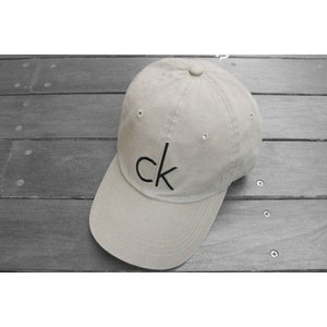 カルバンクライン C Kロゴ ベースボール キャップ キャップ ベージュ / CALVIN KLEIN CK LOGO BASEBALL CAP [BEIGE]|breaks-general-store