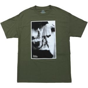 エステヴァン・オリオール LA ハンド Tシャツ オリーブ / ESTEVAN ORIOL LA HAND S/S TEE [OLIVE] breaks-general-store