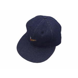 エベッツフィールド フランネルズ X ブレイクス シガー デニム ベースボール キャップ 別注 / EBBETS FIELD FLANNELS X BREAKS CIGAR DENIM BASEBALL BB CAP|breaks-general-store