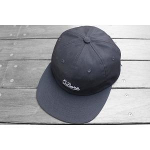 ファイブ ボロ NYC スクリプトロゴ6パネル キャップ 帽子 ブラック / 5BORO NYC SCRIPT LOGO 6 PANEL CAP [BLACK]|breaks-general-store