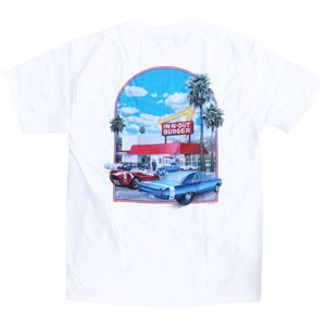 インアンドアウト バーガー 2000 ミレニアム Tシャツ / IN-N-OUT BURGER 2000 MILLENNIUM S/S TEE [WHITE]|breaks-general-store