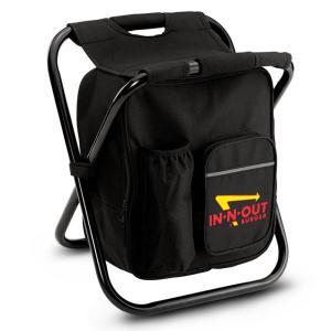 インアンドアウト バーガー クーラーバッグ チェア ブラック/ IN-N-OUT BURGER COOLER BAG CHAIR [BLACK]|breaks-general-store