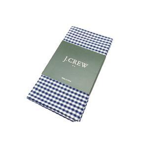 ジェイクルー ギンガム チェック ハンカチ ホワイト ブルー / J.CREW GINGHAM CHECK HANDKERCHIE BLUE/WHITE|breaks-general-store