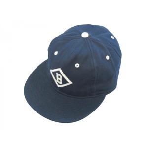 ジェイクルー X エベッツ フィールド フランネルズ ベースボール キャップ ビスマーク チャーチルズ 帽子 USA製 / J.CREW × EBBETS FIELD FLANNELS BB CAP|breaks-general-store