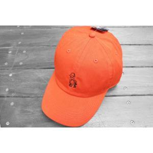 クレイジーボーイ ベースボール キャップ オレンジ 帽子 シンプソンズ バート / KRAZY BOY BASEBALL CAP [ORANGE] SIMPSONS BART DAD HAT|breaks-general-store