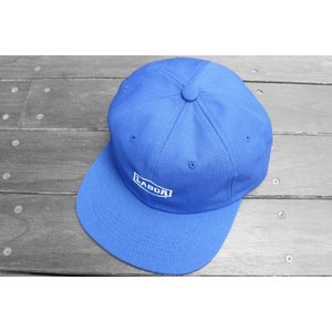 レイバー クレスト ロゴ 6パネル キャップ 帽子 スケートショップ ブルー / LABOR CREST LOGO 6 PANEL CAP [BLUE]|breaks-general-store