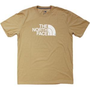 日本未発売 ザ ノースフェイス ハーフドーム ショートスリーブ  Tシャツ カーキ ベージュ / THE NORTH FACE HALFDOME S/S TEE [KHAKI HEATHER]|breaks-general-store