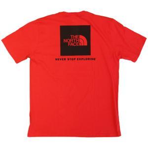 日本未発売 ザ ノースフェイス レッド ボックス ショートスリーブ  Tシャツ レッド / THE NORTH FACE RED BOX S/S TEE [TNF RED]|breaks-general-store
