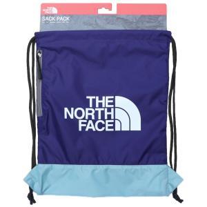 日本未発売 ザ ノースフェイス サックパック リュック ナップサック パープル ライトブルー / THE NORTH FACE SACK PACK [PURPLE/L.BLUE]|breaks-general-store
