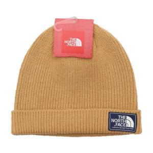 日本未発売 ザ ノースフェイス シップヤード ビーニー ニット帽 ライトブラウン / THE NORTH FACE SHIPYARD BEANIE [DIJON BROWN] breaks-general-store