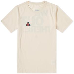 ナイキ エーシージー NSW Tシャツ クリーム ホワイト / NIKE ACG NSW TEE [AQ3951-258]|breaks-general-store