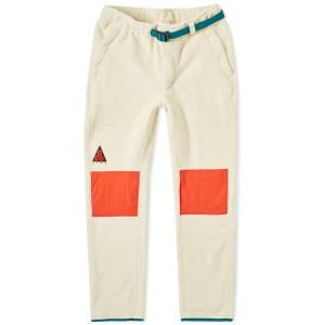 ナイキ エーシージー シェルパ フリース パンツ ホワイト / NIKE ACG SHERPA FLEECE PANTS [AJ2014-258]|breaks-general-store