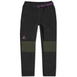 ナイキ エーシージー シェルパ フリース パンツ ブラック / NIKE ACG SHERPA FLEECE PANTS [AJ2014-010] breaks-general-store