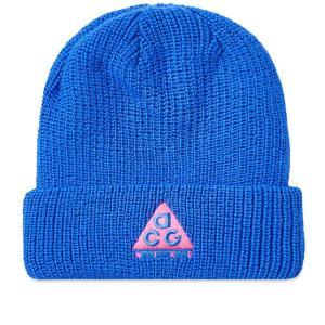 ナイキ エーシージー NSW ビーニー ニット帽 ブルー  / NIKE ACG NSW BEANIE [AV4775-416]|breaks-general-store
