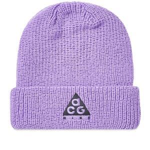 ナイキ エーシージー NSW ビーニー ニット帽 パープル  / NIKE ACG NSW BEANIE [AV4775-583]|breaks-general-store