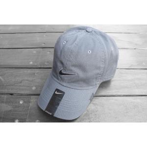 日本未発売 ナイキ ヘリテージ86 スウォッシュ キャップ グレー / NIKE HERITAGE86 SWOOSH CAP 【GRAY】|breaks-general-store